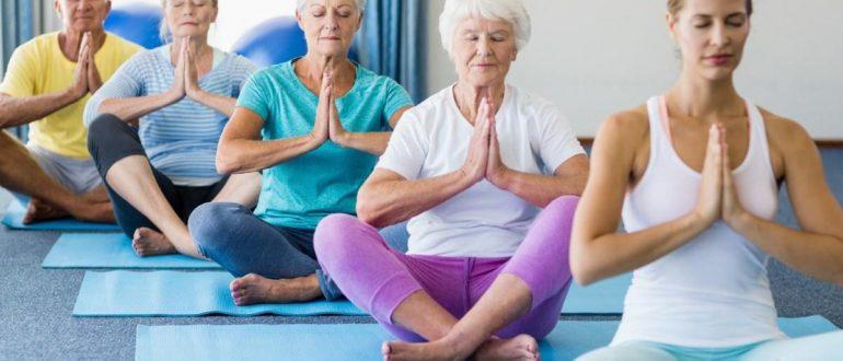 Йога для людей в возрасте